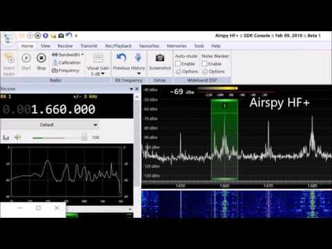 Icom IC-7300 vs. Airspy HF+ SDR on medium wave