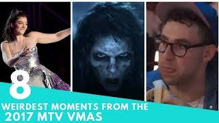 The 8 WEIRDEST Moments from the 2017 MTV VMAs | Hollywire