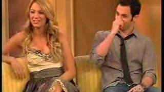 Blake Lively and Penn Badgley on The View 11/20/07