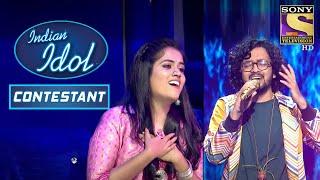 Download lagu Nihal और Sayali के Duet ने बनाया Romantic माहौल | Indian Idol | Contestant