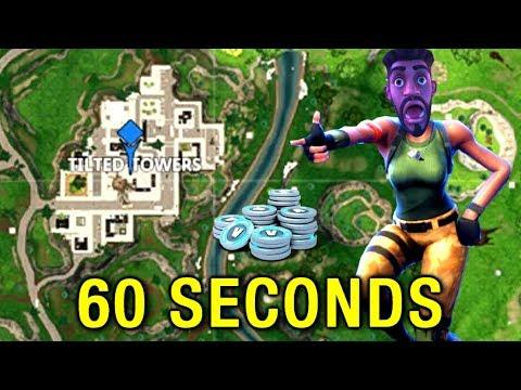 Fortnite In 60 Seconds 🎮