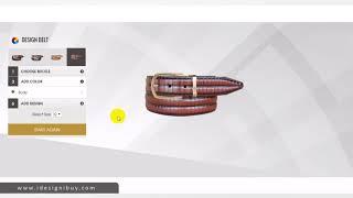 Custom Belt Design Software