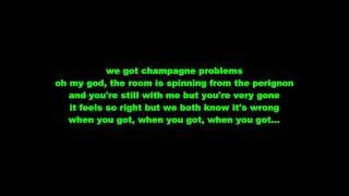 Champagne problems nick jonas lyrics