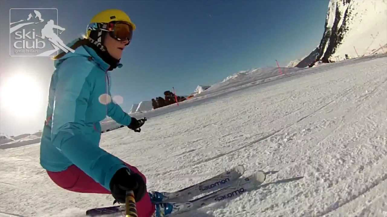 eb3684b69a19 Salomon W Kart - 2013 Ski Club Ski Tests - YouTube