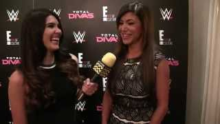 WWE Diva Rosa Mendes @ Total Divas Luncheon | AfterBuzz TV Interview