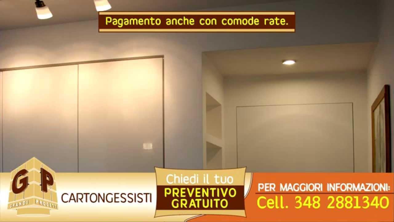 Cabina Armadio Cartongesso Knauf : Costruzione pareti in cartongesso knauf ribassamenti con