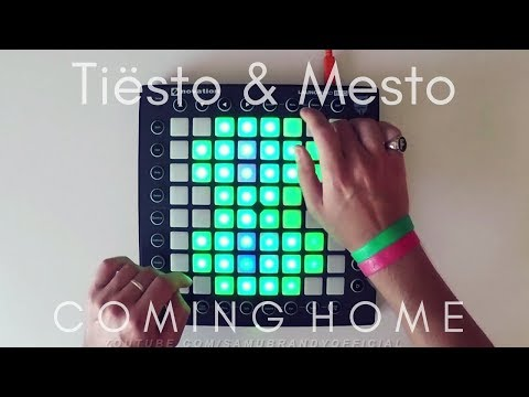Tiësto & Mesto - Coming Home  Launchpad Pro Cover