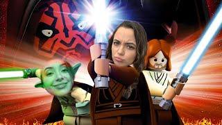 Playing Star Wars Legos! - Merrell Twins Live