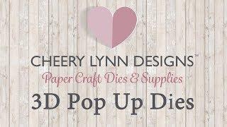 Cheery Lynn Designs 3D Pop Up Dies Introduction