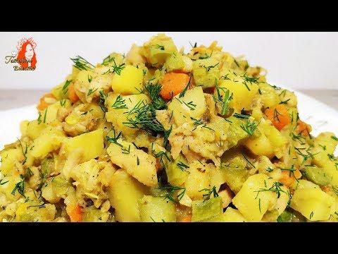 Овощное Рагу с мясом! Лучший вариант для ужина или обеда.