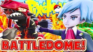 MINECRAFT POKEMON MODDED BATTLEDOME TOURNAMENT MINIGAME - PIXELMON MINECRAFT MOD CHALLENGE #1
