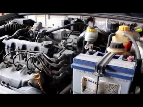 Chevrolet Lanos Шевроле Ланос 2008 года Замена датчика кислорода и датчика заднего хода
