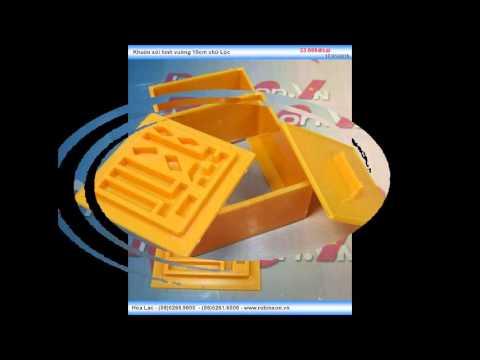 Khuôn ép xôi hình vuông bằng nhựa