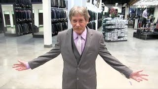 Homeless Man Xmas Surprise Makeover!