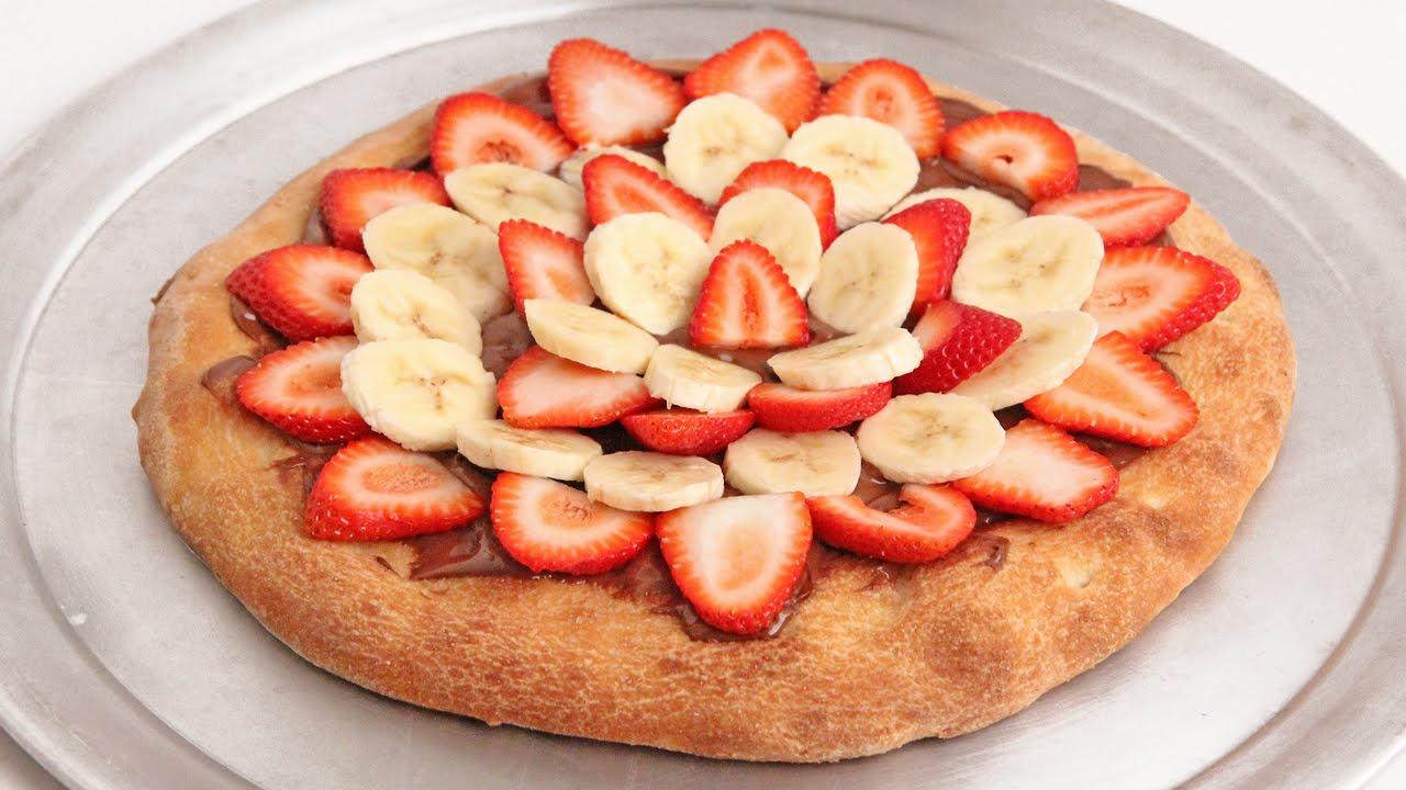 nutella pizza recipe - laura vitale - laura in the kitchen episode
