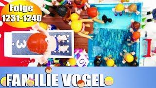 Playmobil Filme Familie Vogel: Folge 1231-1240 | Kinderserie | Videosammlung Compilation Deutsch