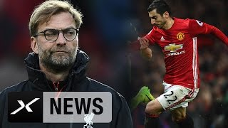 "Jürgen klopp: henrikh mkhitaryan? ""wundervoller spieler"" | manchester united - fc liverpool 1:1"