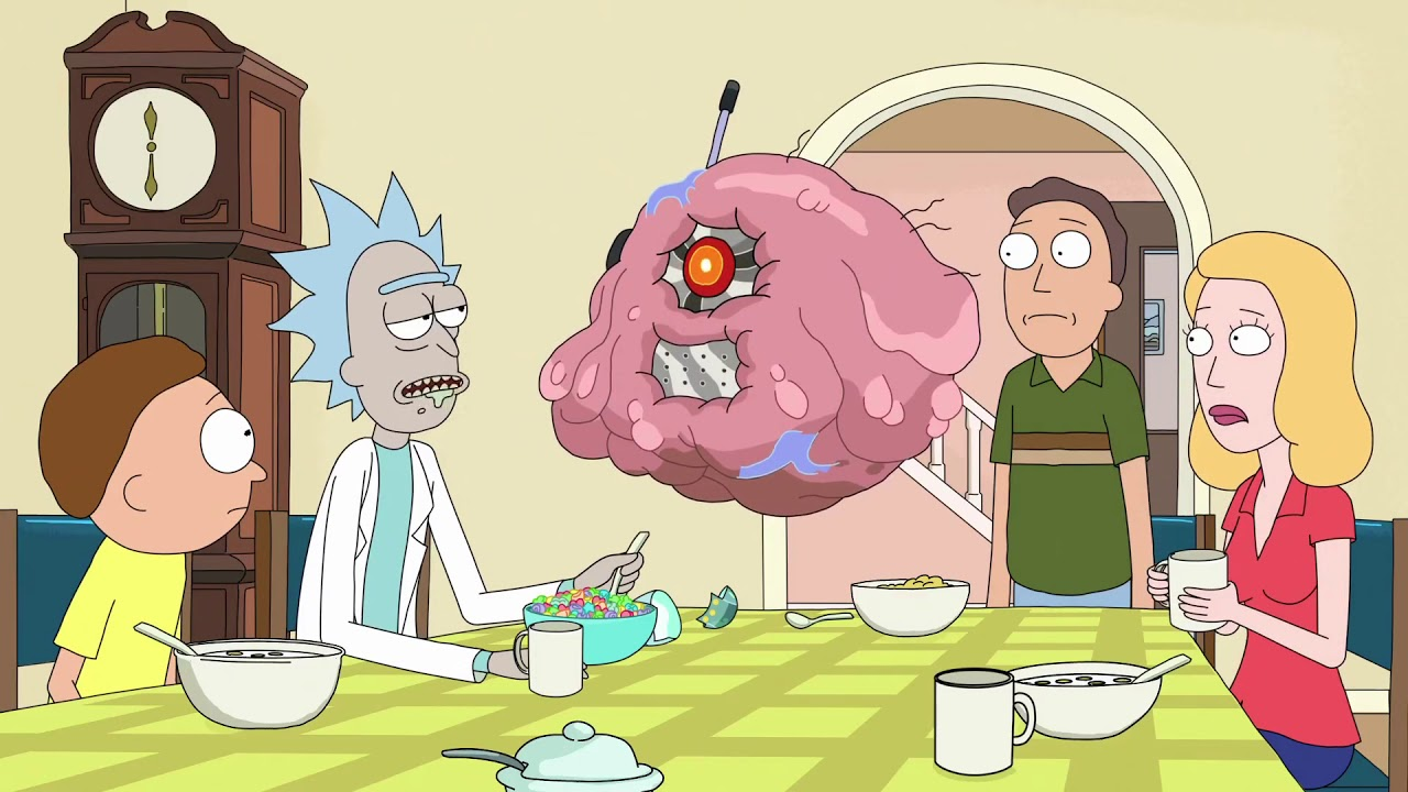 """Rick Sanchez Quotes Stunning Weddings Are Basically Just Funerals With C"""" Rick And Morty"""
