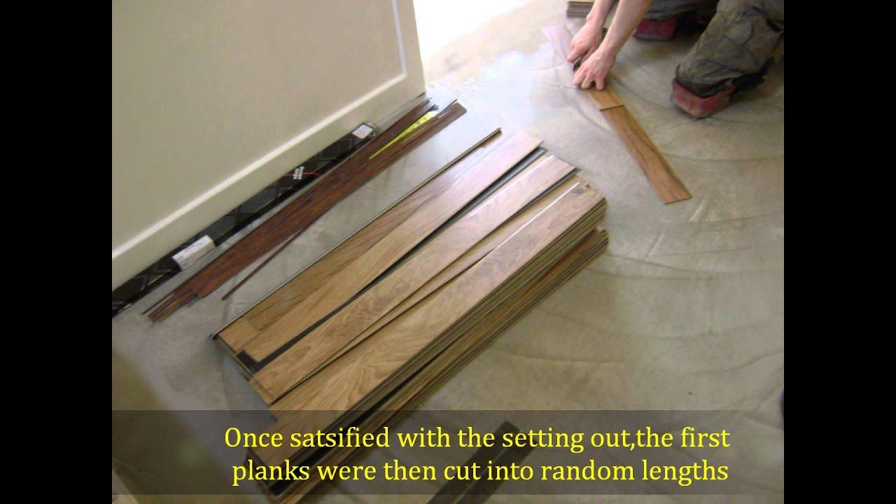 How we Install Karndean Flooring  YouTube