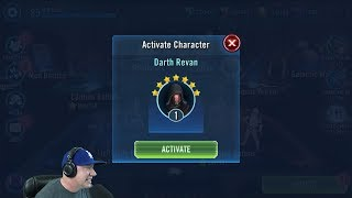 Darth Revan Unlocked - Gear 8 Ordo - Star Wars: Galaxy of Heroes - SWGoH thumbnail