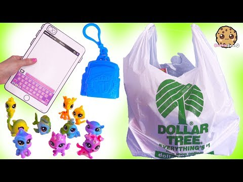 Charm U Surprise + Rainbow Littlest Pet Shop Toys At Dollar Tree Store !!!