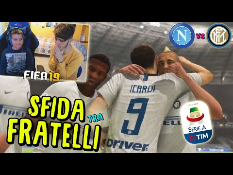 NAPOLI vs INTER - BIG MATCH SERIE A TRA FRATELLI! - Fifa 19