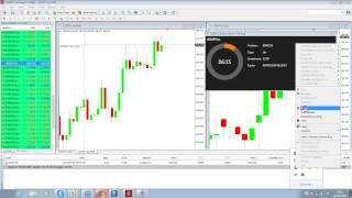 Mike Douglas (Day 2)  3% Per Day Trading Forex (USDJPY 09 09 14)