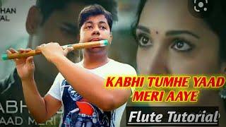 Kabhi Tumhe Yaad Meri Aaye   Flute Tutorial   Darshan Raval   Shershaah   Harish Mahapatra