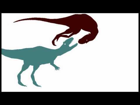 PBA SPECIAL!!: Allosaurus vs  Albertosaurus