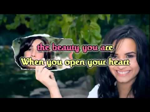 Demi Lovato GIFT OF A FRIEND Karaoke