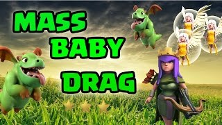 Th9 New War Attack Strategy   MASS BABY DRAGON + QUAD QUAKE   Clash of Clans ✔️✔️