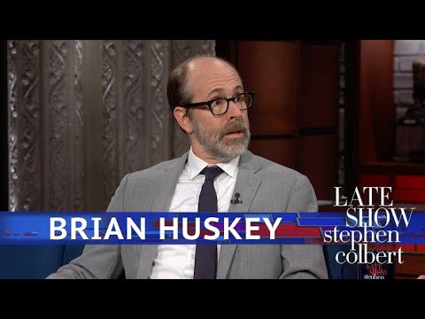 Brian Huskey Once Worked As A HalfMime, HalfStatue