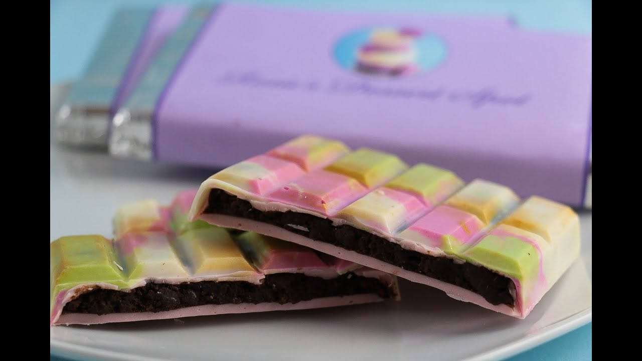 How To Make Homemade Chocolate Bars - YouTube