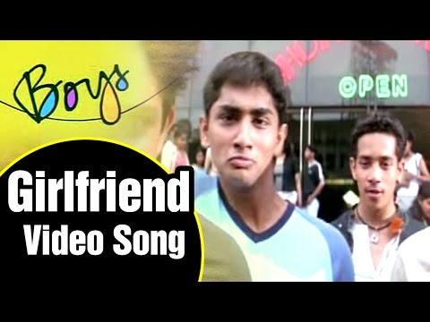 Girlfriend Video Song | Boys Tamil Movie | Siddharth | Genelia | Bharath | Shankar | AR Rahman