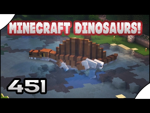 Minecraft Dinosaurs! || 451 || Swimming Spino