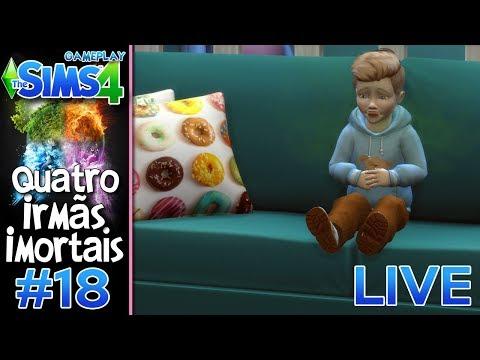 EDWARD QUASE MORREU #18 - Desafio das 4 IRMÃS IMORTAIS VILÃS - The Sims 4