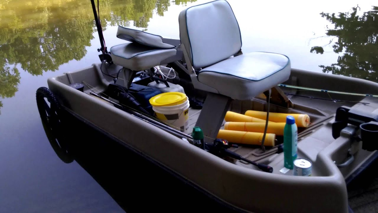 2 man bass boat youtube for Two man fishing boat