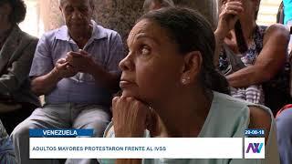 """""""Queremos cobrar nuestras pensiones sin el carnet de la patria"""""""