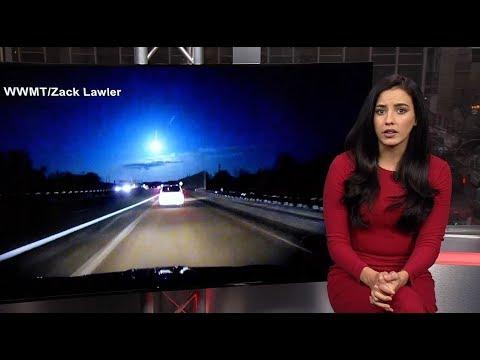Michigan's 'fireball meteor' summons earthquake