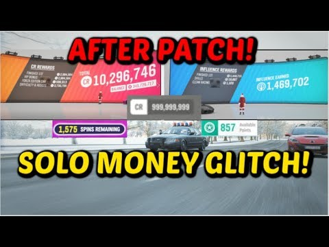 *NEW* WORKING SOLO MONEY GLITCH in Forza Horizon 4! (AFTER PATCH)