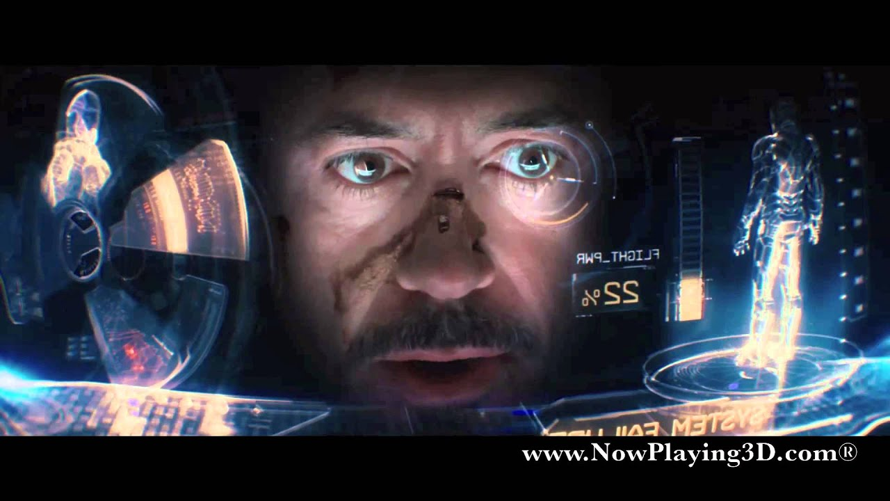 Avengers Animated Wallpaper Iron Man 3 Scene Quot Malibu Attack Quot Youtube