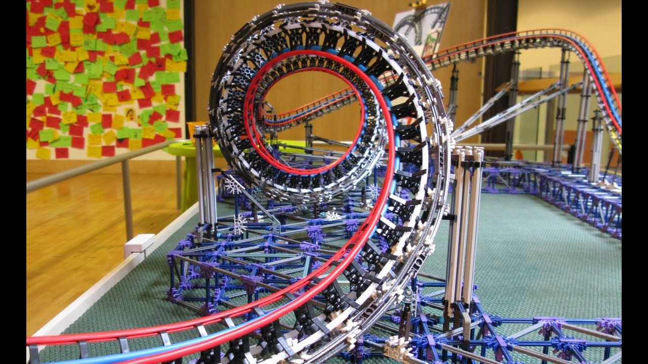 Dragon Fire - A K'nex Recreation - YouTube