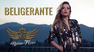 Beligerante - Chris Vega (Big Melao) La reina del Flow 🎶 Canción oficial - Letra | Caracol TV