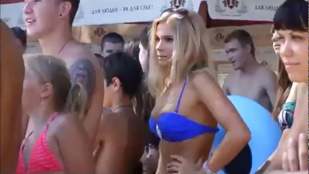 روسيات على الشاطئ فيديو ساخن ممنوع للاطفال - youtube