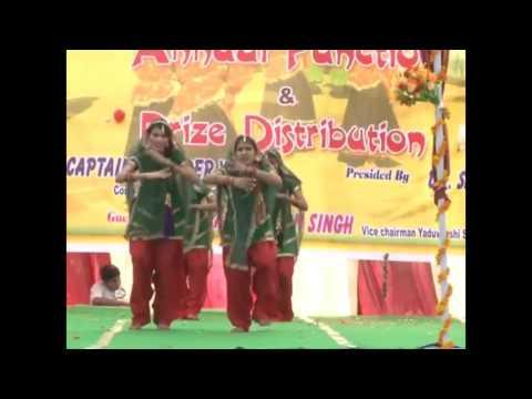 Hule Hulare Hule Song Perform by Student of Yaduvanshi Shiksha Niketan Narnaul