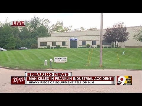 Man killed in Franklin industrial accident