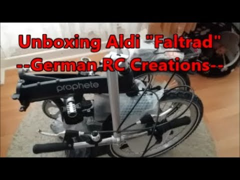 aldi nord faltrad 2018 unboxing review faltrad test. Black Bedroom Furniture Sets. Home Design Ideas