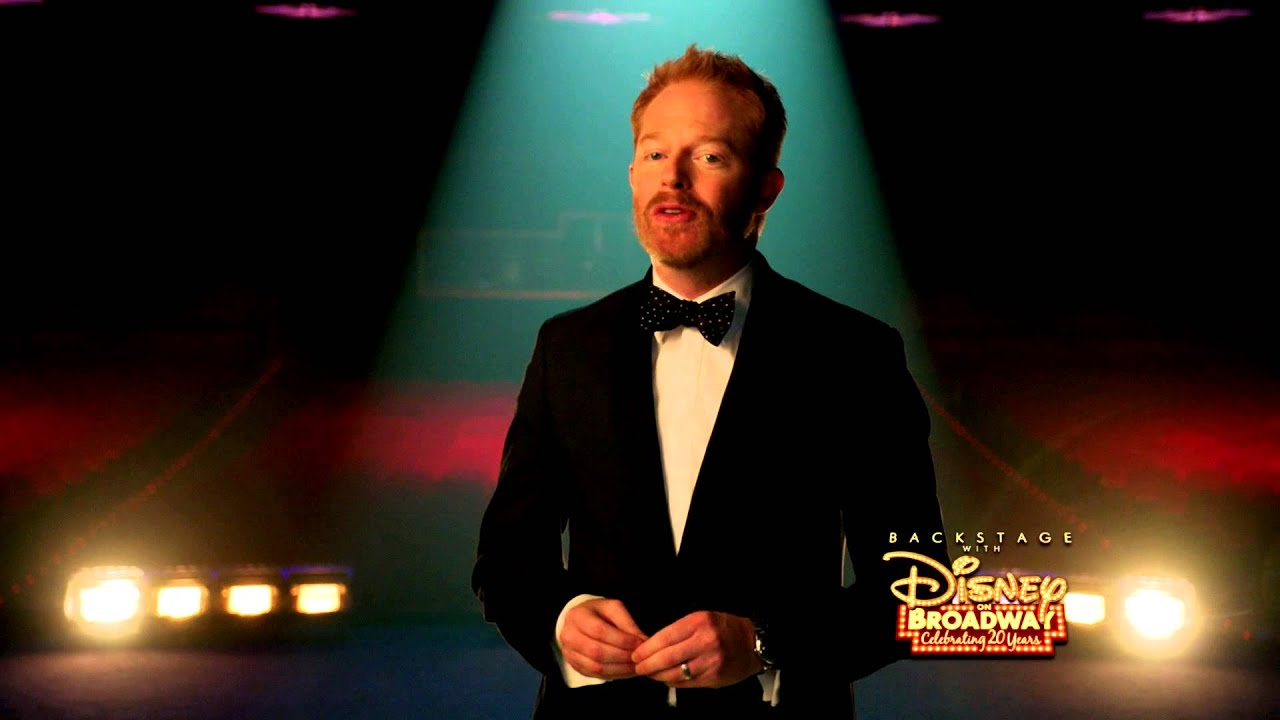 Jesse Tyler Ferguson | Backstage with Disney On Broadway: Celebrating 20 Years