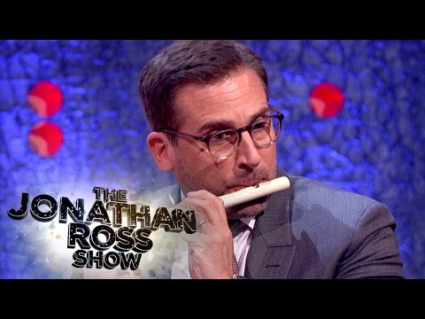 Steve Carell Plays the Fife - The Jonathan Ross Show