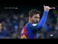 Aficionados del Barcelona ovacionan a Messi 'El mesias ya llegó' FCB 5 0 Las Palmas 2017 - New 1018